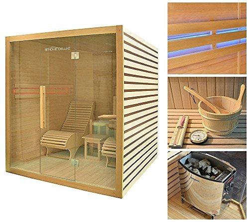 home deluxe horizon saunakabine inkl komplettem zubehoer - Home Deluxe Horizon Saunakabine, inkl. komplettem Zubehör