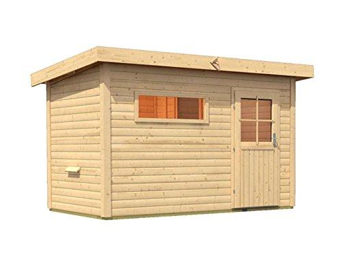 sauna fuer den aussenbereich rauma 1 mit vorraum 337cm x 196cm x 228cm - Sauna für den Außenbereich Rauma 1 mit Vorraum 337cm x 196cm x 228cm