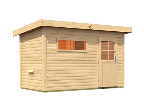 sauna fuer den aussenbereich rauma 2 mit vorraum 337cm x 231cm x 239cm inkl zubehoerset 9kw saunaofen - Sauna für den Außenbereich Rauma 2 mit Vorraum 337cm x 231cm x 239cm inkl. Zubehörset 9kW Saunaofen