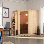 System Sauna Matku 151cm x 151cm x 198cm Eckmodell