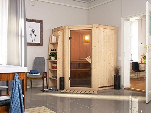 system sauna matku 151cm x 151cm x 198cm eckmodell - System Sauna Matku 151cm x 151cm x 198cm Eckmodell