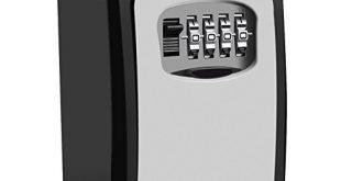 41c+sEQ9fmL 310x165 - Schlüsseltresor,EMIUP[Wandmontage] Schlüsselsafe Schlüsselbox mit 4-stelligem Zahlencode für Häuser, Büros, Fitnessstudios, Fabriken Schlüssel-Hohe Sicherheit